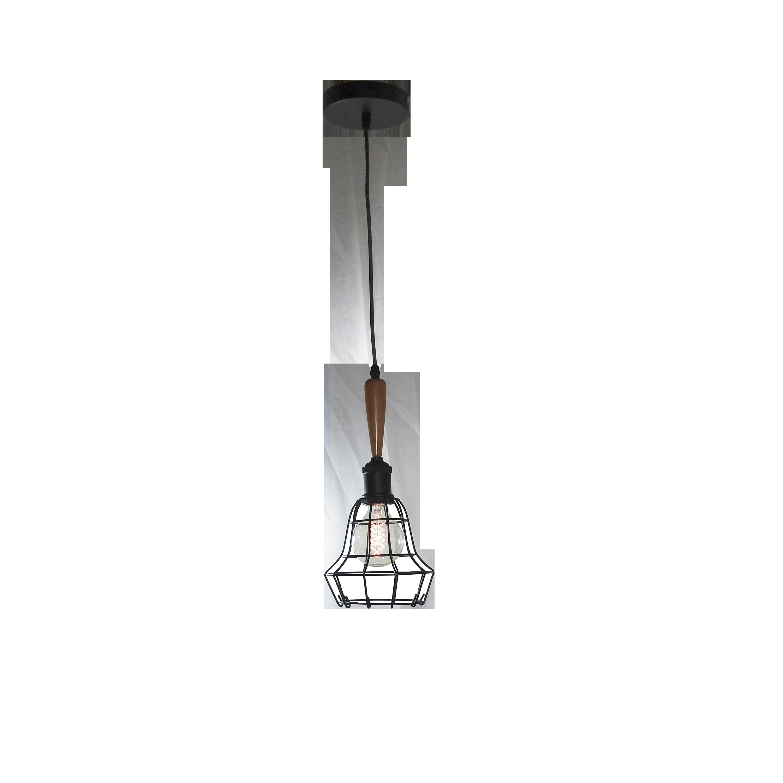 Pendente de Filamento Thomas Edison Retro Gaiola 1 Lâmpada