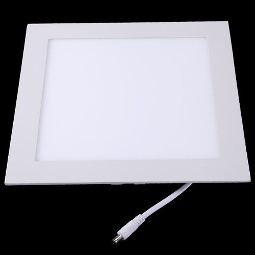 Painel Plafon Downlight Quadrado Embutido de Led 12W - 6500K