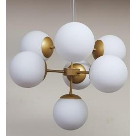 Lustre Balls 7 Lâmpadas-Goldenart