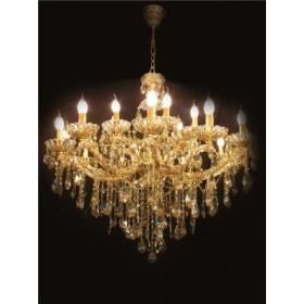 Lustre de Cristal Candelabro Champanhe 18 Lâmpadas – Frontier