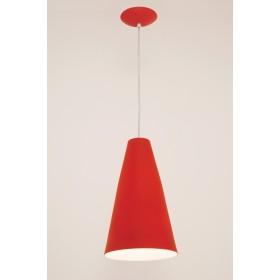 Pendente Madri 1 Lampada Vermelho - Auremar