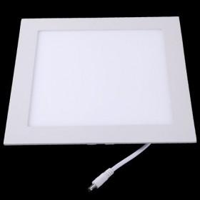 Painel Plafon Downlight Quadrado Embutido de Led 24W - 6500K
