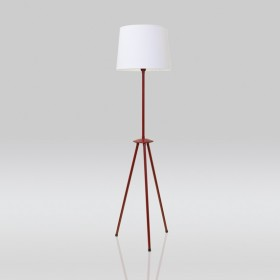 Luminária de Chão Tree Tripé Desmontável 1 Lâmpada Goldenart
