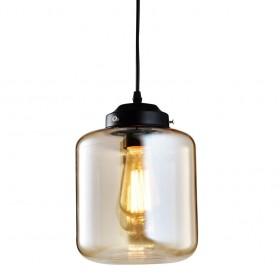 Pendente de Vidro Baleiro Filamento Retrô 1 Lâmpada Thomas Edison