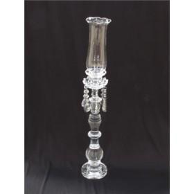 Castiçal de Cristal Transparente de 1 Vela - Frontier