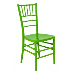 Cadeira Acrilica Tiffany Sem Almofada Verde Claro